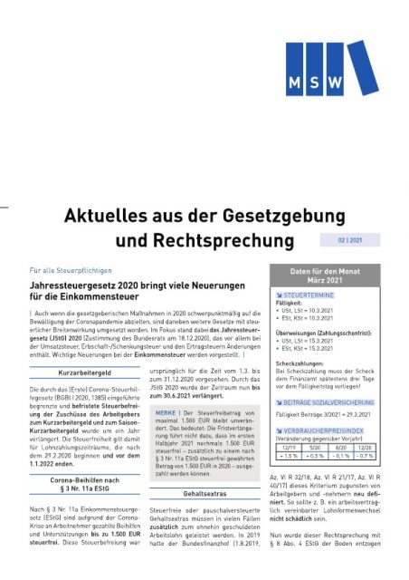 Newsletter Page1
